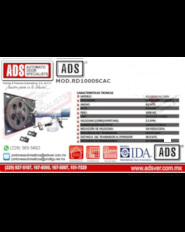 ADS-Boletin Operador Enrollable MOD.RD1000SCAC, ADS Puertas y Portones Automaticos S.A. de C.V.