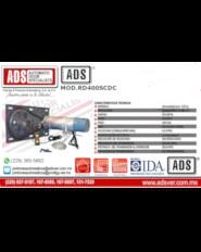 ADS-Boletin Operador Enrollable MOD.RD400SCAC, ADS Puertas y Portones Automaticos S.A. de C.V.
