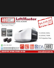 ADS-Boletin LIFTMASTER 8160, ADS Puertas y Portones Automaticos S.A. de C.V.