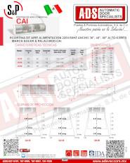 Cortina de Aire Comercial MOD.CAI 6.0Mts(65)dB, ADS Puertas y Portones Automaticos S.A. de C.V.