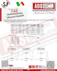 Cortina de Aire Comercial MOD.CAS 2.5Mts(52-59)dB, ADS Puertas y Portones Automaticos S.A. de C.V.