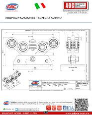 Especificaciones Tecnicas Carro FAC, ADS Puertas & Portones Automaticos S.A. de C.V.