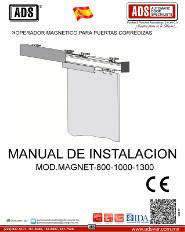 Medva, Manual Operador Magnetico para Puertas Corredizas MOD.MAGNET