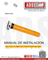 ACM, Manual, Operador Central para Cortina Enrollable MATIC92M, Puertas y Portones Automaticos S.A. de C.V.