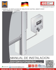 Tableta de Control Smart Start MOD.AS500FUE-1 (3 FASES), ADS Puertas y Portones Automaticos S.A. de C.V.
