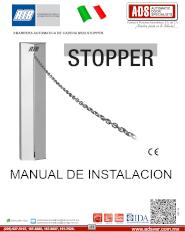 Barrera Automatica de Cadena MOD.STOPPER