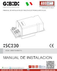 Operador Corrredizo Electromecanico GIBIDI MOD.1200-1800-2500 230V., ADS Puertas & Portones Automaticos S.A. de C.V.