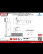 Puerta Automatica Corrediza DIVA LC APS G38 D TIPO P-SX-SX-P EXT