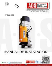 ACM, MANUAL DE INSTALACION TITANSIDE