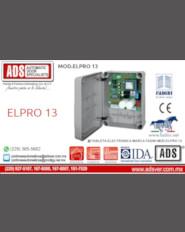 Boletín,Boletín Tableta Electronica Marca Fadini MOD.ELPRO 13,Puertas y Portones Automaticos S.A. de C.V.
