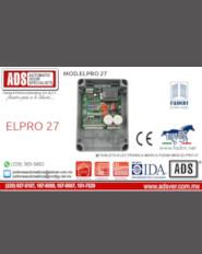 Boletín,Boletín Tableta Electronica Marca Fadini MOD.ELPRO 27,Puertas y Portones Automaticos S.A. de C.V.