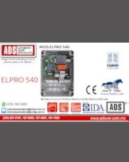 Boletín,Boletín Tableta Electronica Marca Fadini MOD.ELPRO S40,Puertas y Portones Automaticos S.A. de C.V.