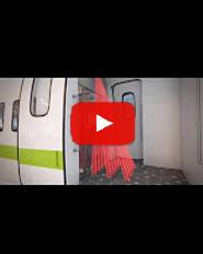 Video RS15 Opening & presence sensors for internal railway doors